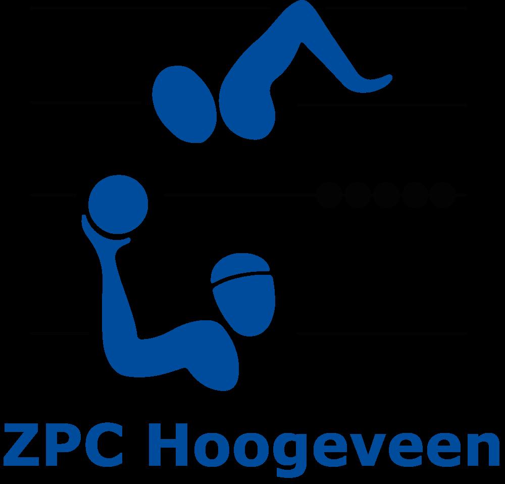 Logo ZPC Hoogeveen blauw groot
